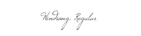 windsong_popular_free_hand_drawn_fonts