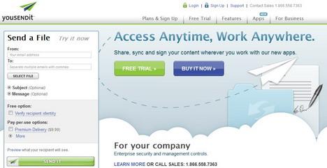 yousendit_best_online_file_sharing_sites