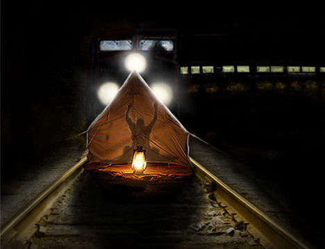 camping_funny_creative_photo_manipulation_artworks