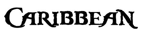 caribbean_regular_movie_inspired_font