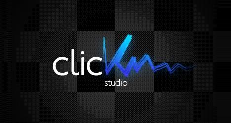 click_recording_studio_creative_and_beautiful_logo_designs