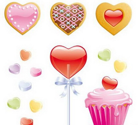 cookies_candy_hearts_lollipop_and_valentine_cupcake
