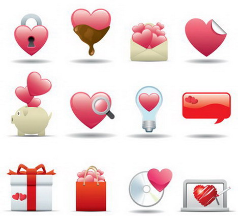 heart_style_icons_for_valentine_day