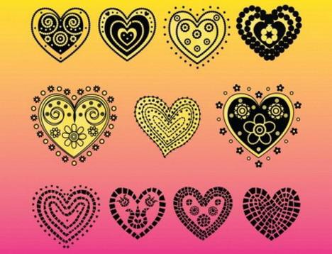 heart_vector_doodles