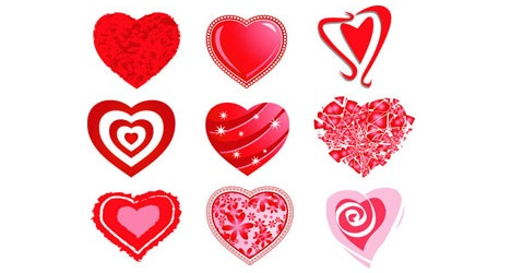 heart_vector_pack