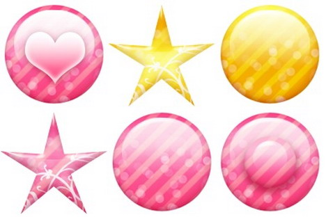 iconset_pink_gold_icons