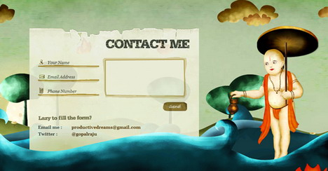 indofolio_beautiful_contact_form_page_designs