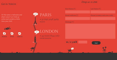 infinvision_beautiful_contact_form_page_designs