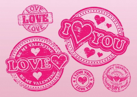 love_stamps_vectors