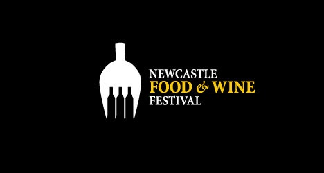 newcastle_food_n_wine_festival_creative_and_beautiful_logo_designs