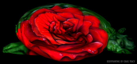rose_amazingly_beautiful_body_painting_photos