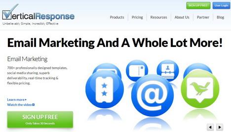 verticalresponse_best_email_newsletter_markerting_tools