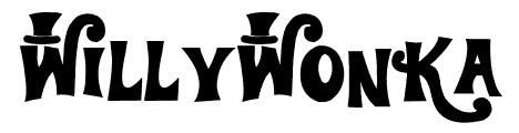 willywonka_movie_inspired_font
