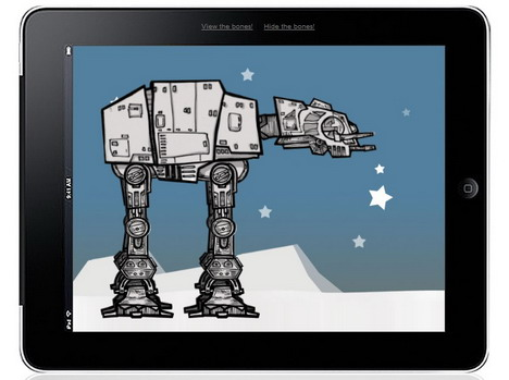animated_at_at_walker_from_star_wars_best_css3_animation_demos
