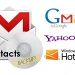 How to Backup and Export Email Contacts from Gmail, Yahoo Mail and Windows Live Hotmail