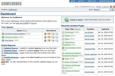 confluence_best_online_project_management_and_collaboration_software