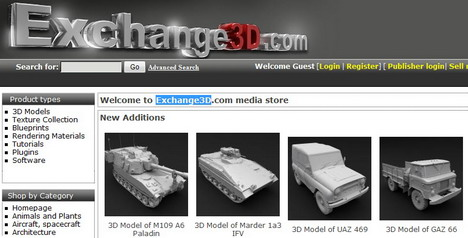 exchange3d_best_websites_to_download_free_3d_models