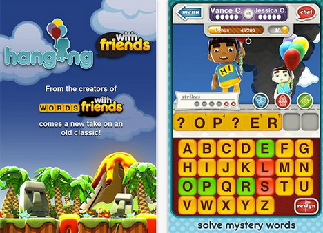 hanging_with_friends_top_85_most_popular_free_iphone_games