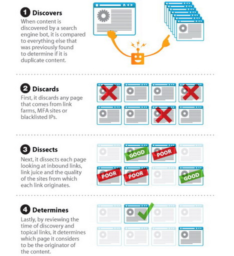 how_a_search_engine_determines_duplicate_content_best_seo_infographics