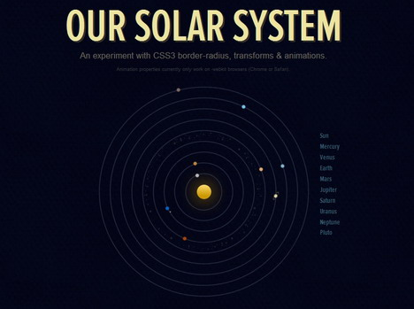 our_solar_system_best_css3_animation_demos