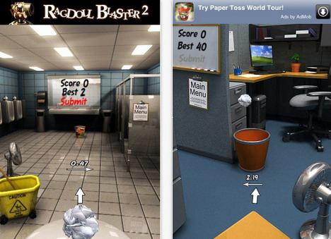 paper_toss_top_85_most_popular_free_iphone_games