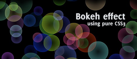 pure_css3_bokeh_effect_best_css3_animation_demos