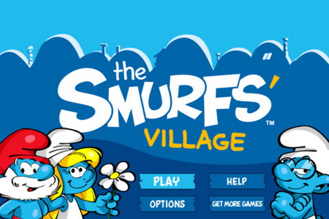 smurfs_village_top_85_most_popular_free_iphone_games