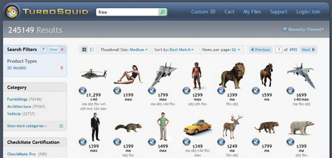 turbosquid_best_websites_to_download_free_3d_models
