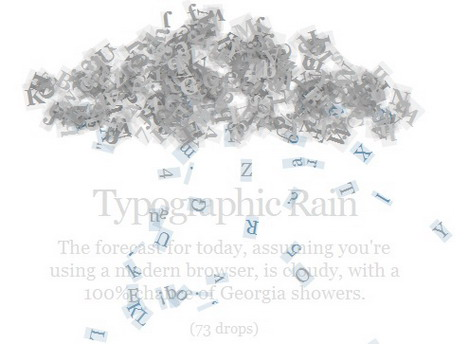 type_rain_best_css3_animation_demos
