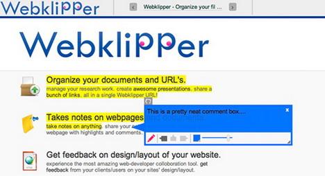 webklipper_best_web_annotation_tools