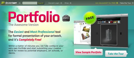 deviantart_best_tools_to_create_online_portfolio