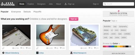 dribbble_best_tools_to_create_online_portfolio