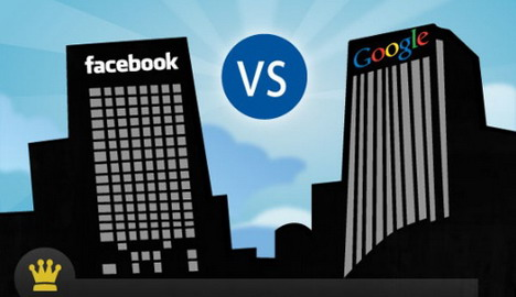 facebook_vs_google_social_media_infographics