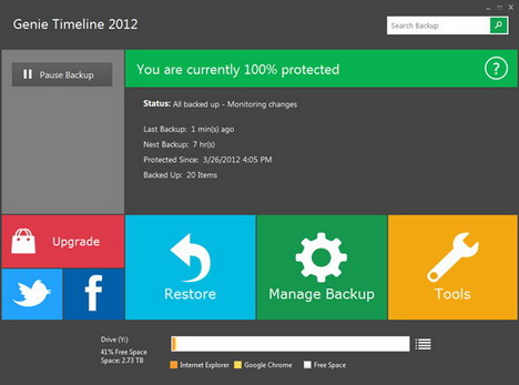 genie_timeline_best_data_backup_restore_synchronization_tools