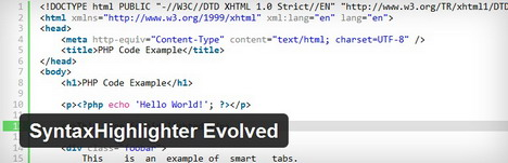 syntaxhighlighter_evolved_best_wordpress_plugin_to_display_code