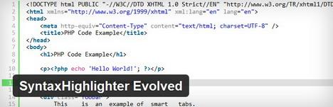 syntaxhighlighter_evolved_best_wordpress_plugin_to_display_code