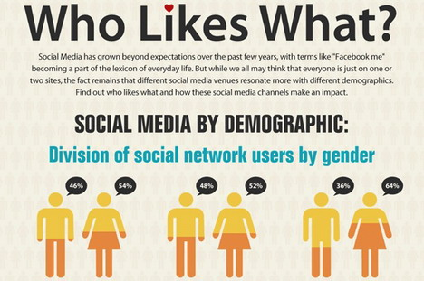 who_likes_what_social_media_by_demographic_infographics
