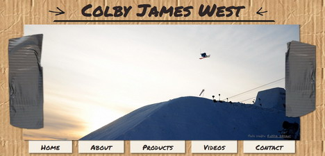 colby_james_west_best_creative_impressive_website_header_designs