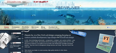 dizzain_best_creative_impressive_website_header_designs
