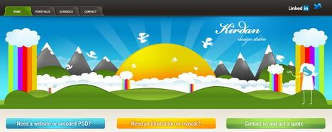 kirdan_design_studio_best_creative_impressive_website_header_designs