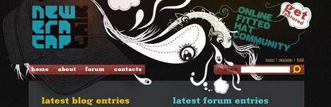 new_era_cap_talk_best_creative_impressive_website_header_designs