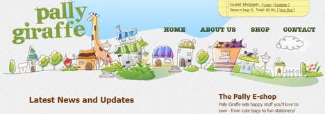 pally_giraffe_best_creative_impressive_website_header_designs
