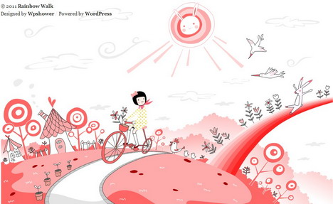 rainbow_walk_best_creative_beautiful_website_blog_footers