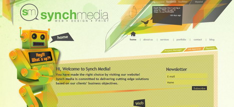 synch_media_best_creative_impressive_website_header_designs