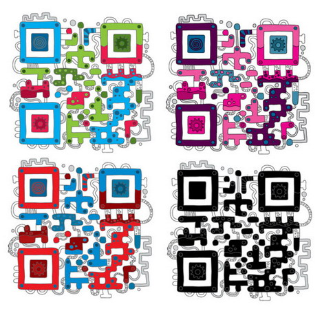 fluid_pumping_qr_code_artworks
