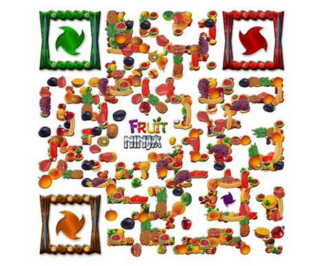 fruit_ninja_qr_code_artworks