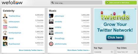 wefollow_best_twitter_tools_to_find_follow_favorite_celebrities