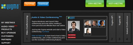 yugma_web_conferencing_online_meeting_tools