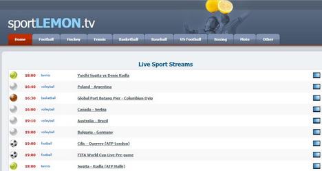 Sport Lemon Live