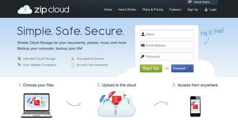 zipcloud_best_unlimited_online_backup_services